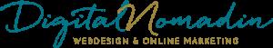 Logo der Webdesignerin DigitalNomadin